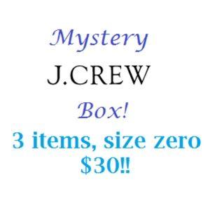 J Crew Mystery Box!! 3 Items!!